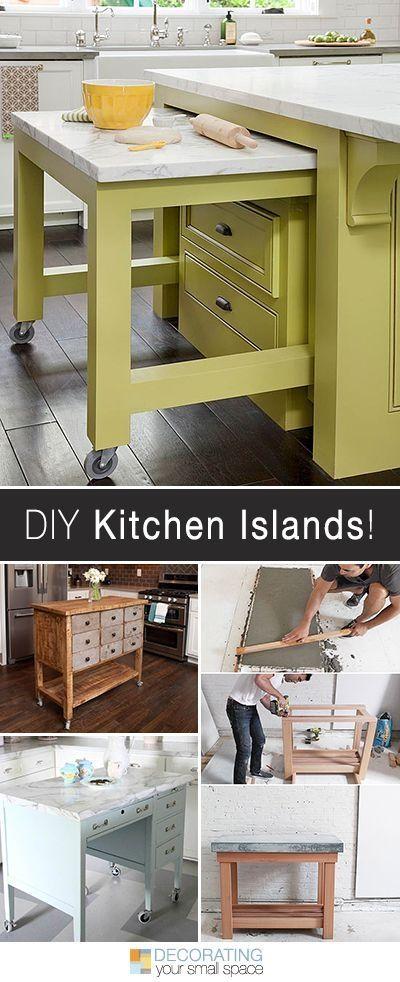 More DIY Kitchen Islands! \u2022 Lots of Ideas and Tutorials! by rhonda