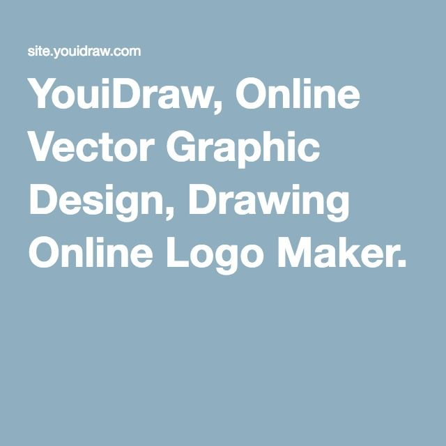 YouiDraw, Online Vector Graphic Design, Drawing Online Logo Maker ...