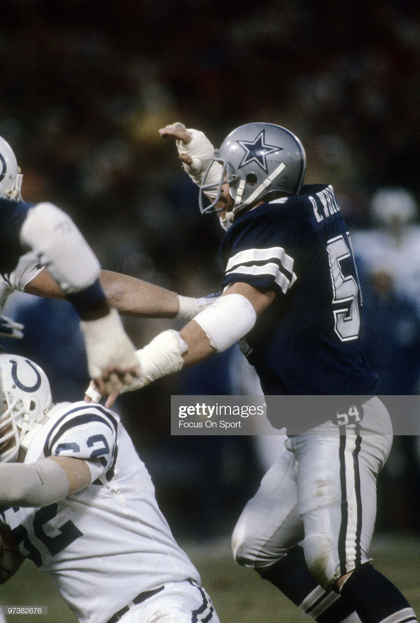 Baltimore md circa 1980s defensive tackle randy white