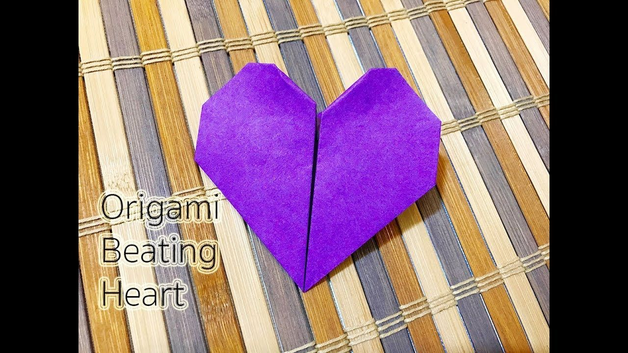How To Make An Origami Beating Heart Origami