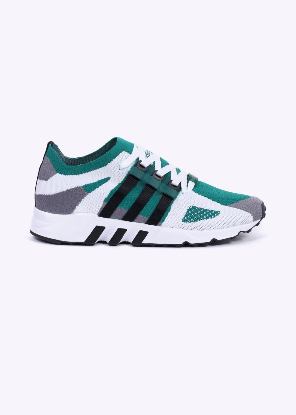 sale retailer 9d228 1f739 Adidas Originals Footwear EQT Running Guidance Primeknit - Grey  Black   Sub Green