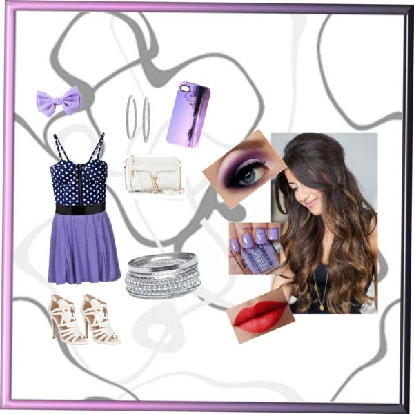 """""""Purple Night Out"""" by pricelesshoranhugs14 on Polyvore"""