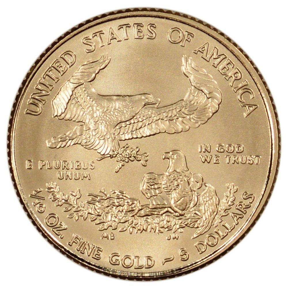 2002 One Tenth Ounce 999 Fine Gold Eagle Brilliant 10 Uncirculated At Amazon S Collectible Coins Store 1 10 One Tenth Oun Gold Eagle Gold Bullion Coin Store