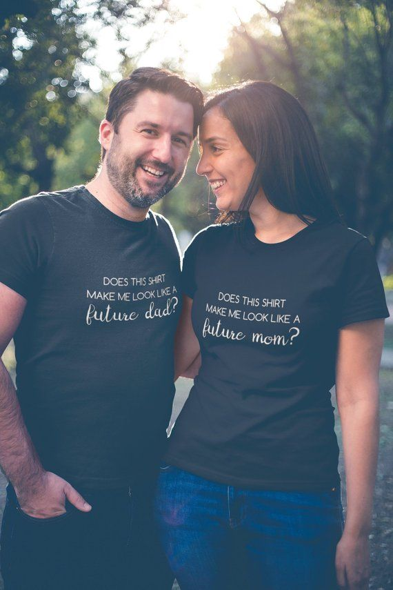 2ccaa08db0e27 Couples Pregnancy Announcement Shirt, Baby Announcement, Matching Couple  Shirts, Expecting Parents G