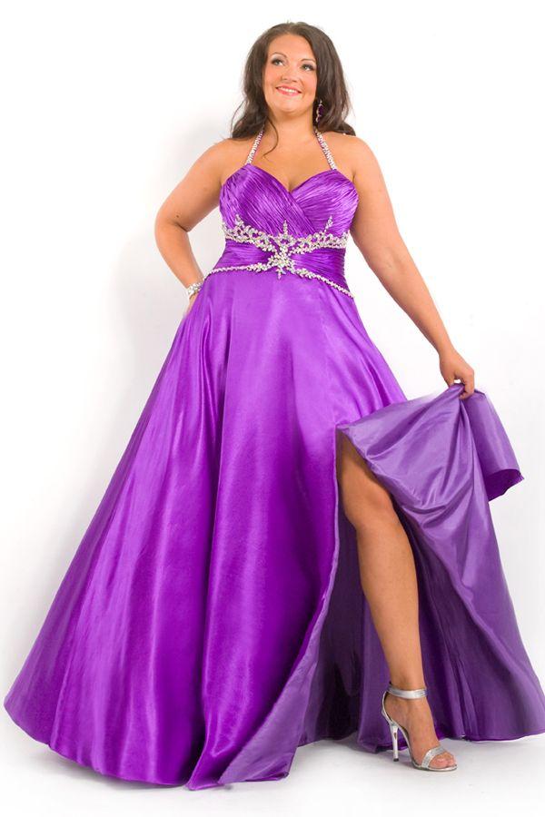 8caf6dc501684 cutethickgirls.com plus size purple dresses (09)  plussizedresses ...