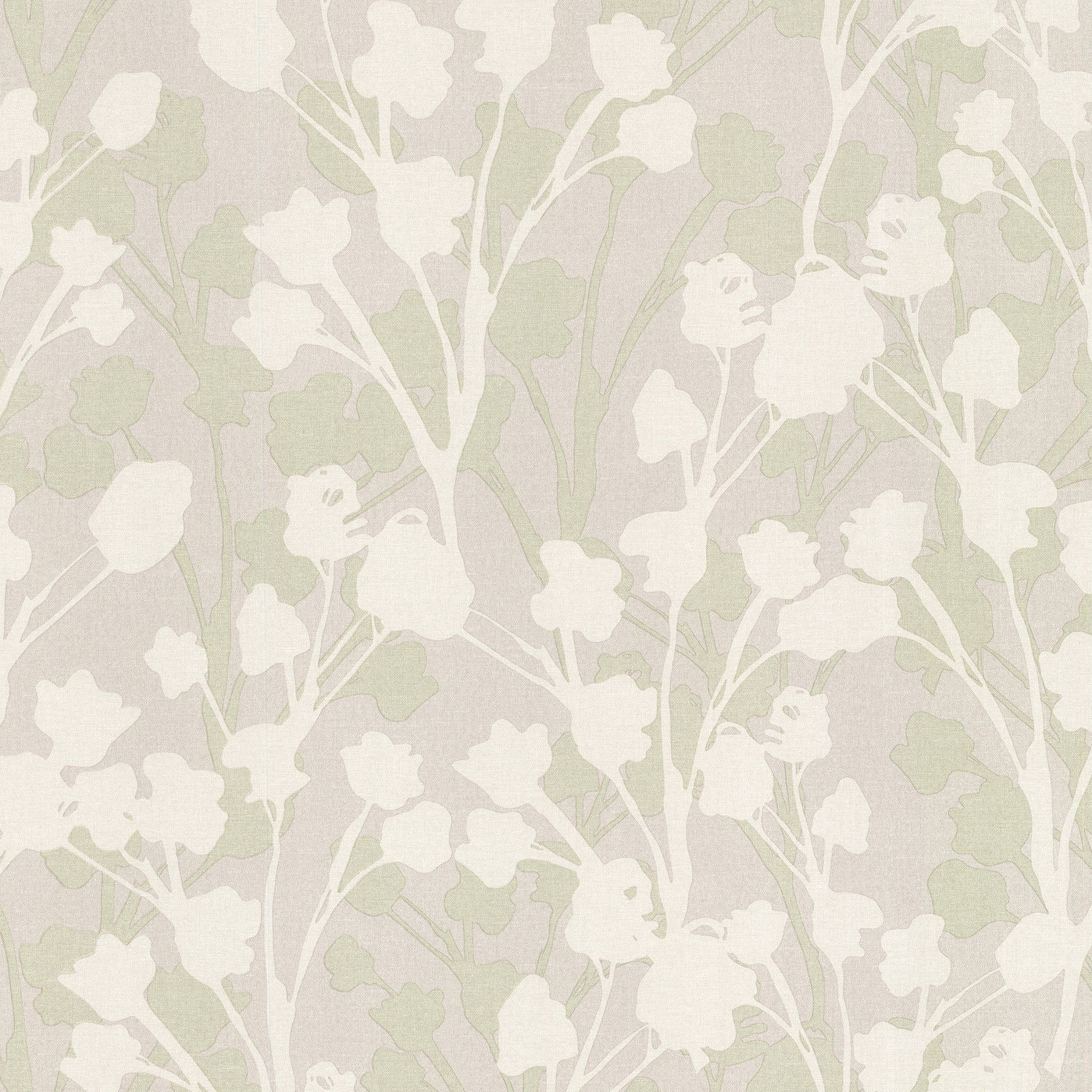 "Kitchen & Bath Resource III Lawson 33' x 20.5"" Floral 3D Embossed Wallpaper"