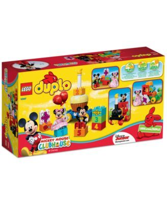 Lego Duplo Disney Mickey Minnie Birthday Parade Misc Lego Duplo Disney Mickey Mouse Clubhouse Lego For Kids
