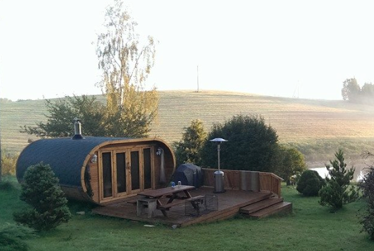 Wooden Glamping Pods Camping pod, Garden pods, Glamping