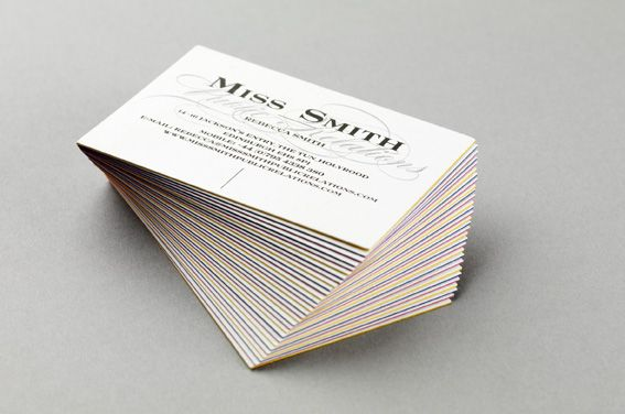 Miss Smith Business Card Creative Design Agency Creative Design Design Agency