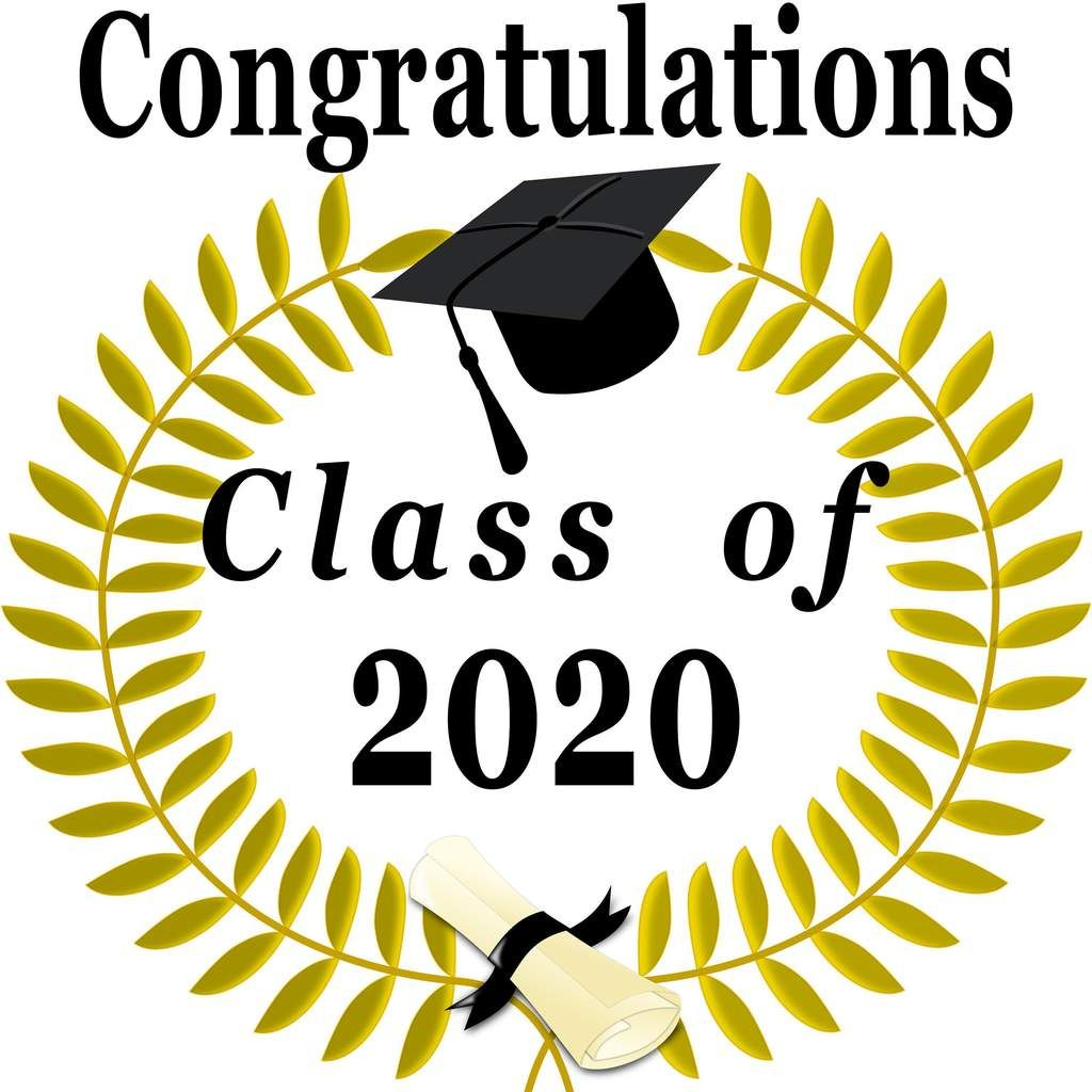 Congratulations Class of 2020 Svg, Png, Jpg, and Pdf (zip