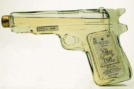 tequila gun packaging