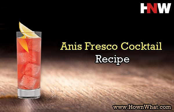 Anis Fresco Cocktail Recipe Liqueur Drinks Cocktails Cocktail Recipes