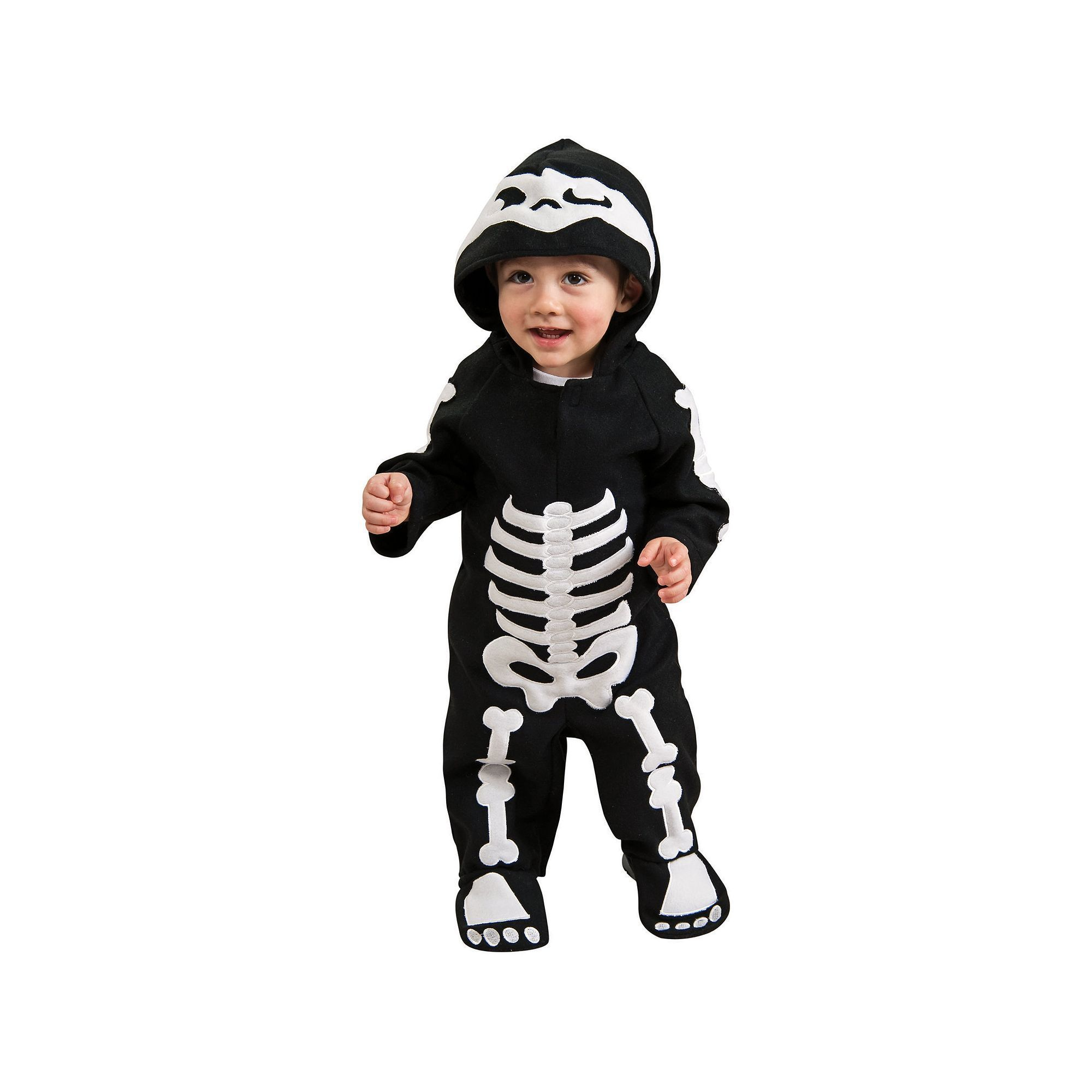 Skeleton Costume - Baby/Toddler, Infant Boy's, Size: 2-4T ...