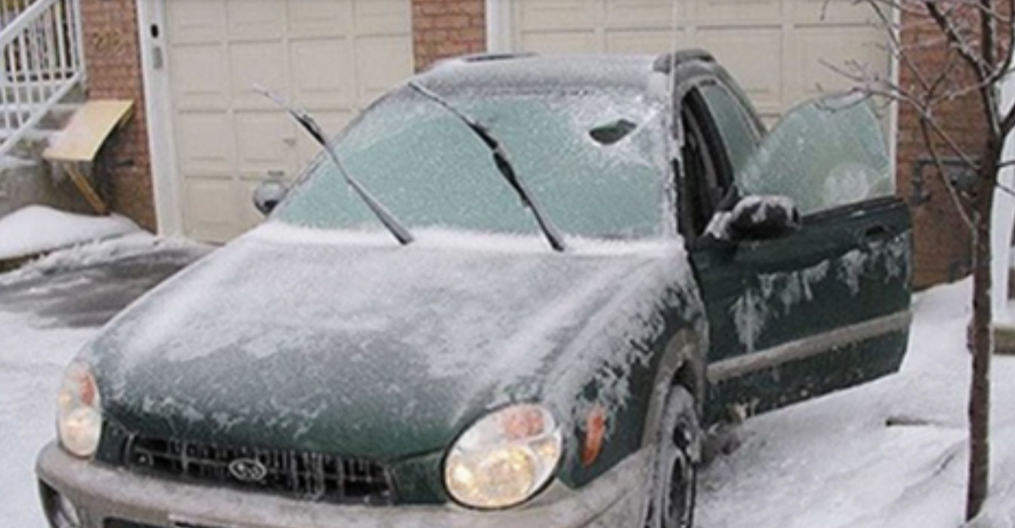 Here's Why You Shouldn't Let Your Car 'Warm Up' During The Winter - Warming Up The Car | Guff