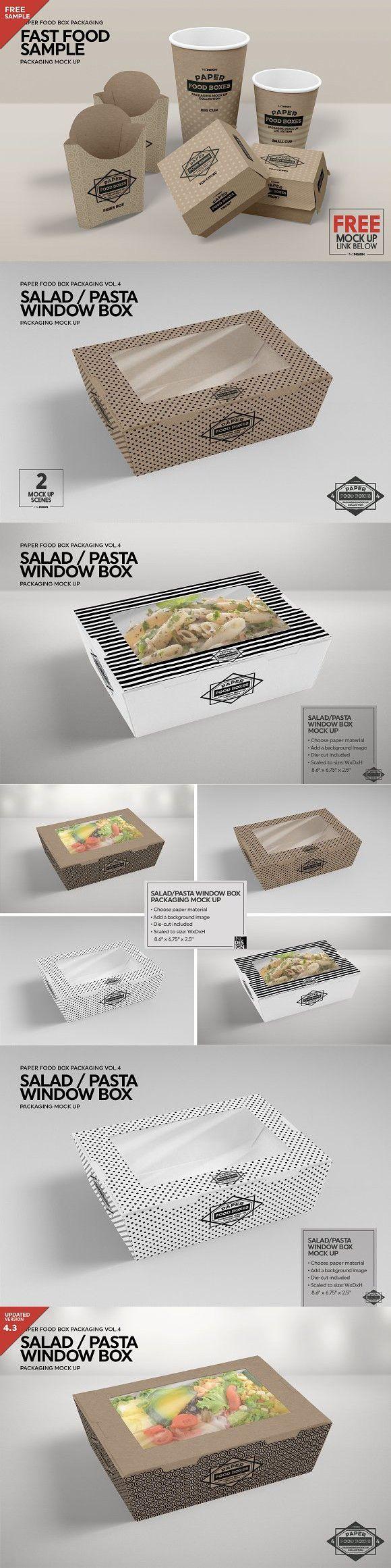 Download Clamshell Window Box Mockup Free Packaging Mockup Box Mockup Window Box