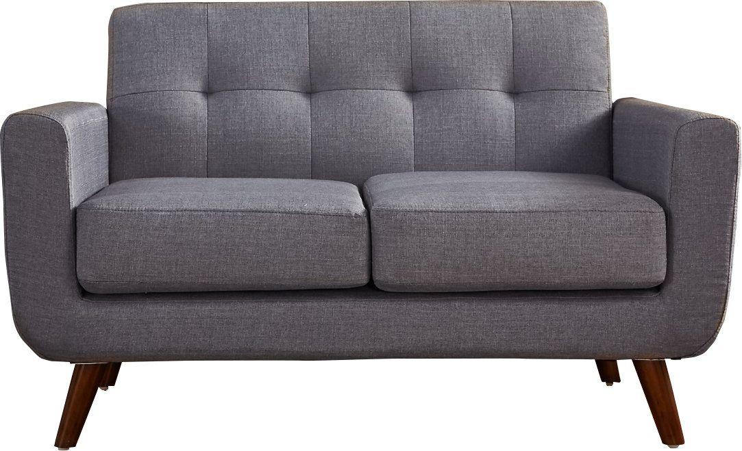 60 Inch Loveseat Furniture Sofa Upholstery Living Room Modern