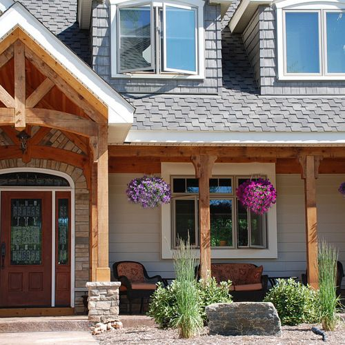 Cedar Posts Ideas Pictures Remodel And Decor Front Porch