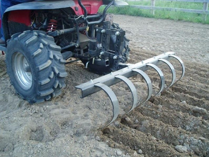 Homemade Chisel Plow For Atv Pinterest