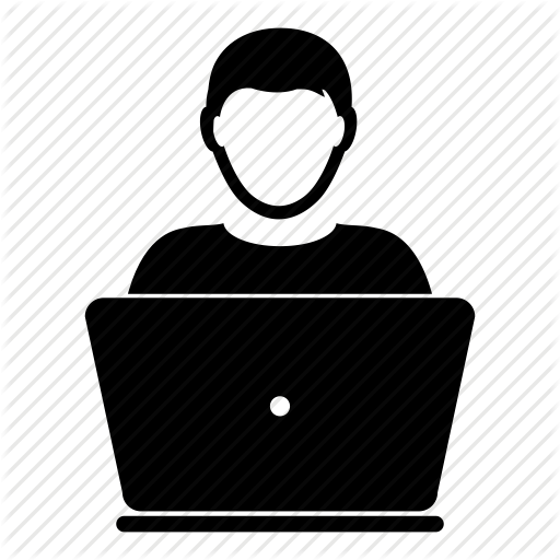 Computer Laptop Men User Admin People Person Icon Download On Iconfinder Computer Icon Person Icon Icon