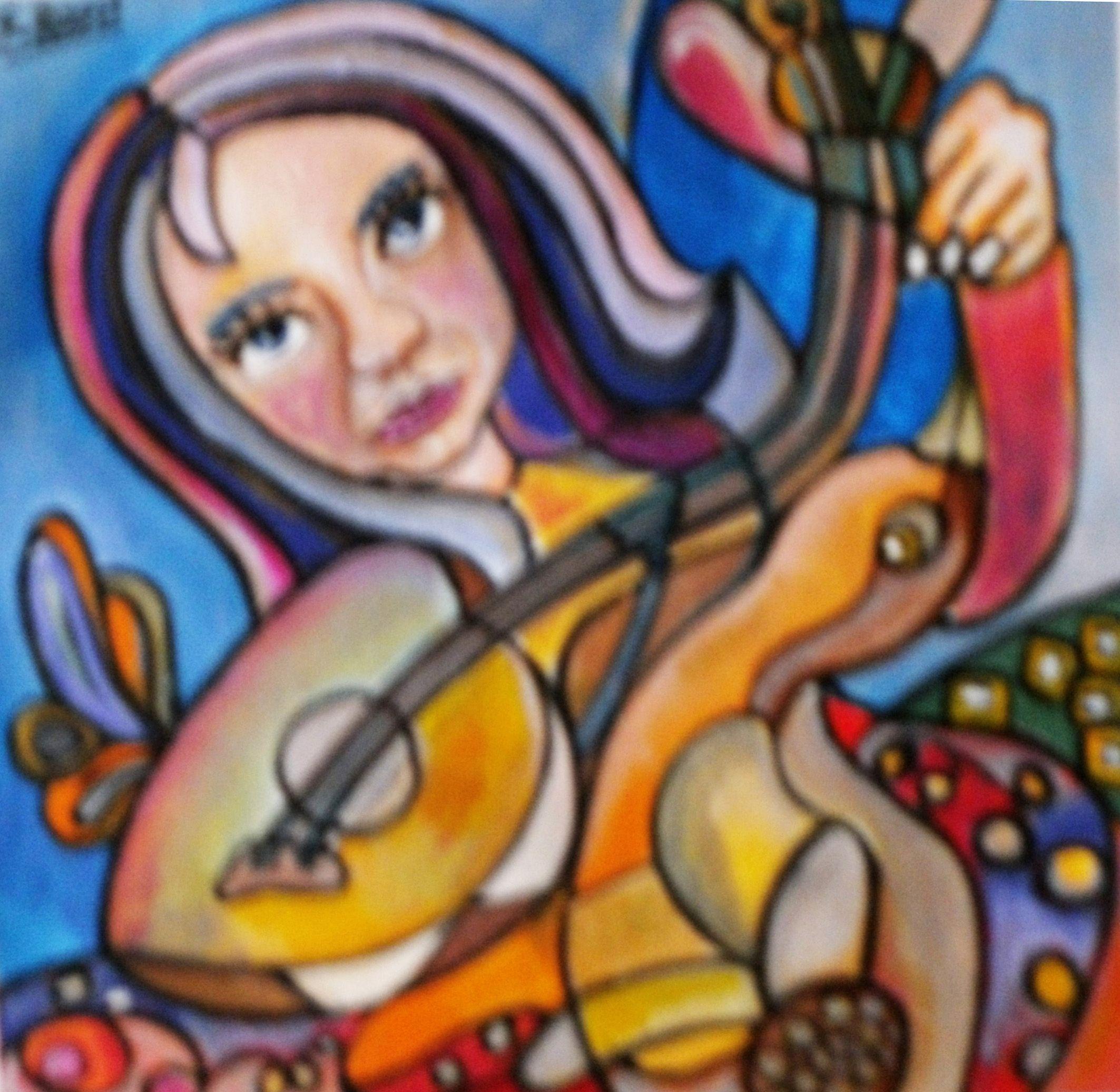 Pintura en Acrilico de Sandra V Rossi