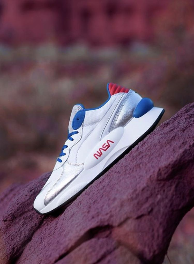 NASA x Puma RS9.8 Sneakers, Running shoes, Shoes