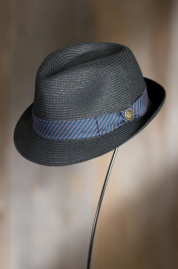 d04c402545dcb0 Goorin Bros. Beach Day Straw Fedora Hat | MEN'S FASHION | Straw ...