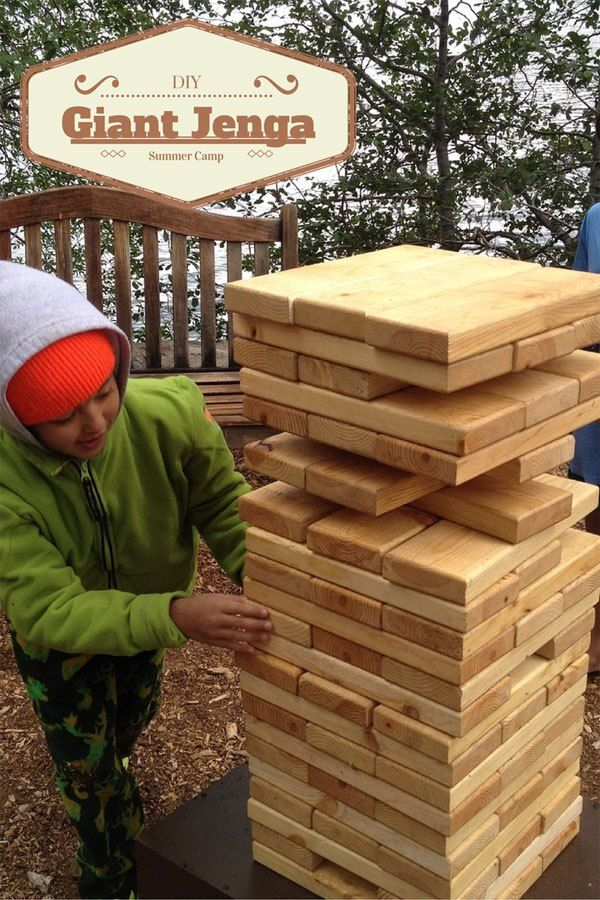How To Build A Giant Jenga