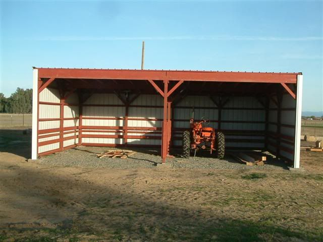 How To Build A Tractor Shed Google Search All Things