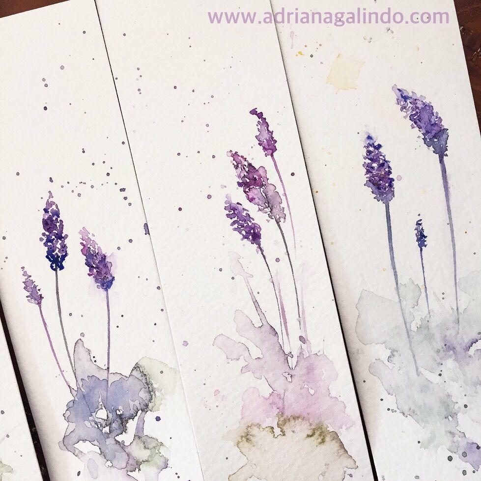 Watercolor bookmark patterns - Copyright By Adriana Galindo Bookmark Marcador De P Gina Em Aquarela Marcador De Livro