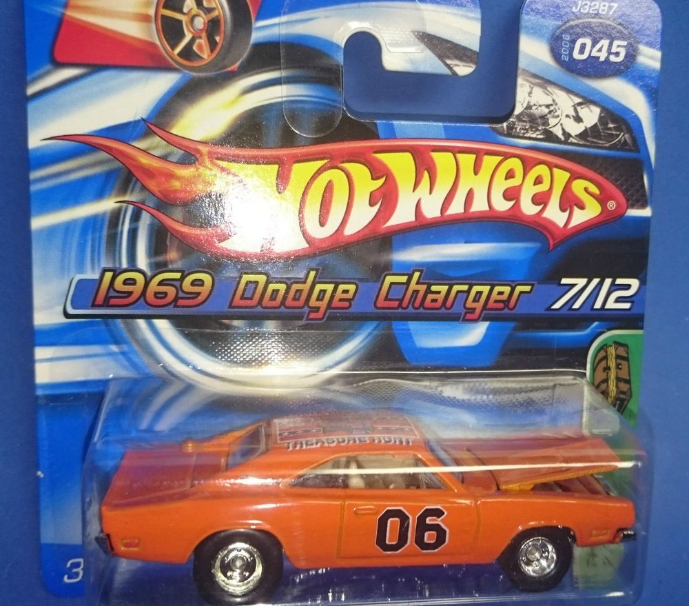 "Wheels Hot Treasure Of Hazzard Charger ´69 Dodge ""dukes Hunt by6vgfY7"