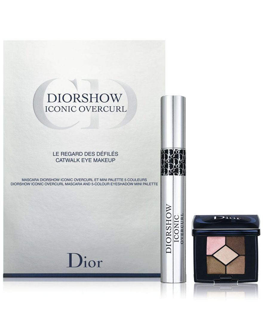Dior Diorshow Iconic Overcurl + Mini 5 Colour Eyeshadow - A Macy's Exclusive