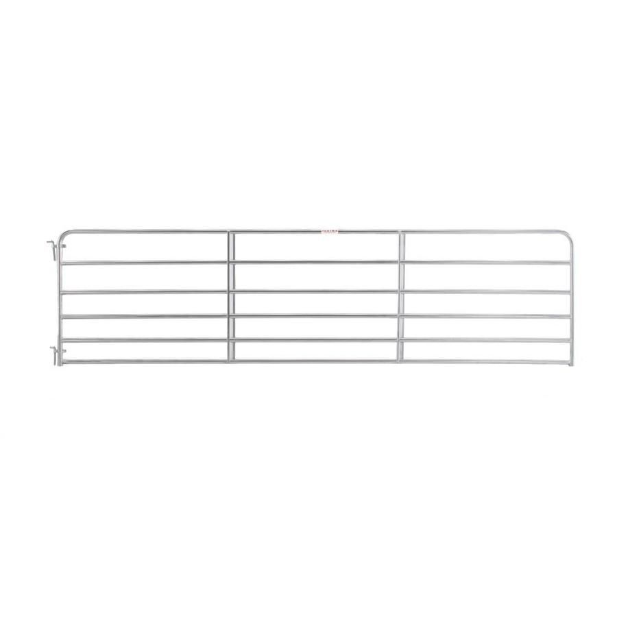 Tarter Common 4 16 Ft X 16 Ft Actual 4 16 Ft X 15 75 Ft Galvanized Steel Farm Fence Gate At Lowes Com 1575ft 16ft In 2020 Farm Fence Gate Farm Fence Fence Gate