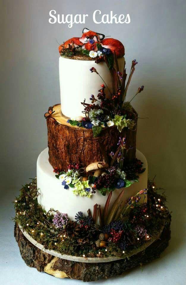 Wedding cake inspiration, Fall wedding cakes, Wedding cupcakes