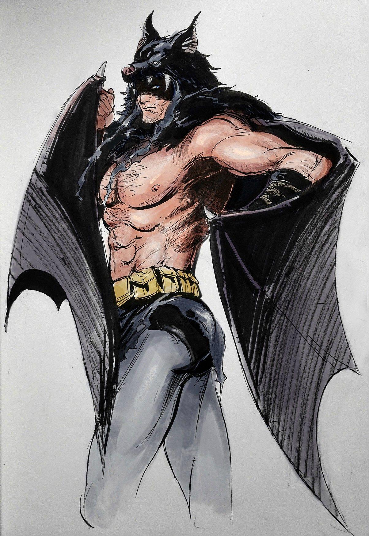 摸個遠古蝙蝠套裝老爺~...