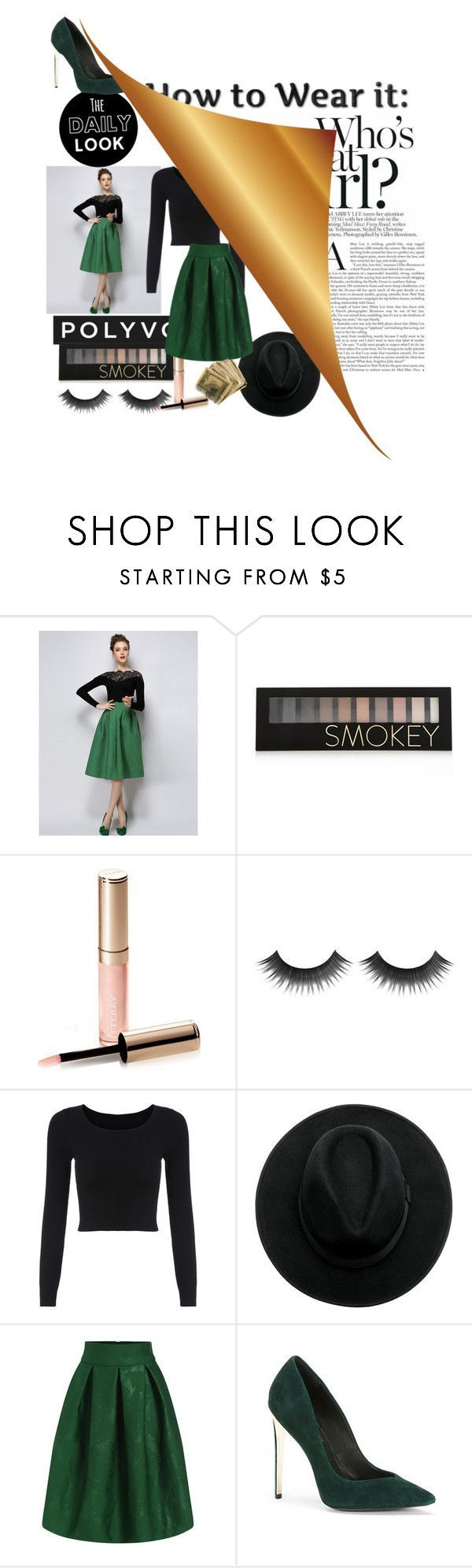 Designer Clothes, Shoes & Bags for Women | SSENSE #starbuckscake Get The Look #3 by starbucks-cake ❤ liked on Polyvore featuring Forever 21, By Terry and Rachel Zoe #starbuckscake