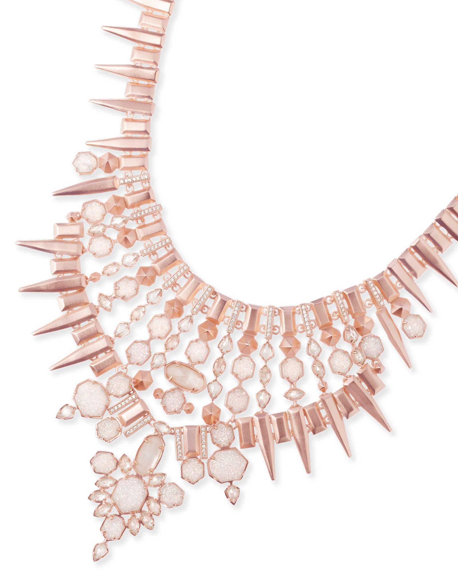 Seraphina Statement Necklace In Champagne Kendra Scott Jewelry