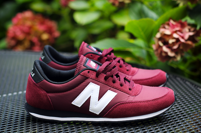 zapatillas new balance u410 burgundy