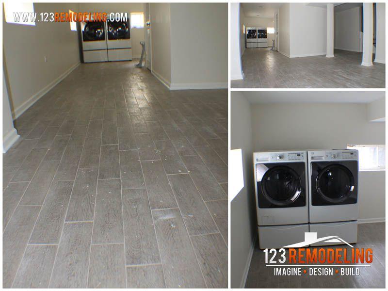 Oak Park Basement Refinishing Project Gallery » 123 Remodeling #basement #refinishing