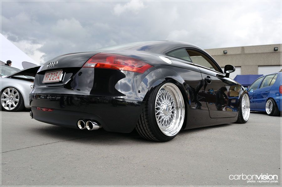 Classic Set Of Bbs Rs Look At Home On This Audi Tt Description From