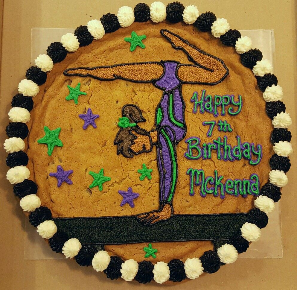 birthday cake granting 9 year old u0027s wish for a cookie cake with a
