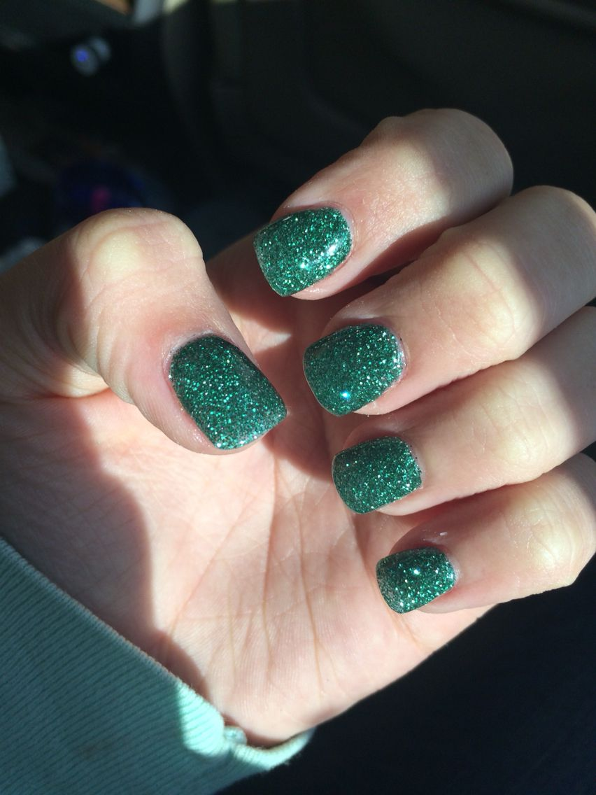 green sparkly/glitter nexgen nails | n e x g e n n a i l s ...