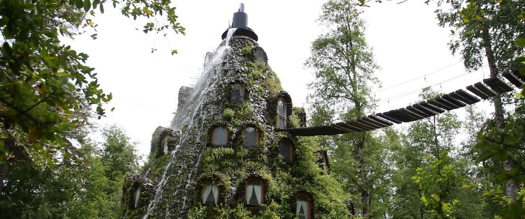 Magic Mountain Hotel, Chile (Photo: Huilo Huilo)