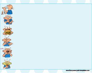 Diabetes symptoms powerpoint template with light blue background and diabetes symptoms powerpoint template with light blue background and cartoon illustration toneelgroepblik Images