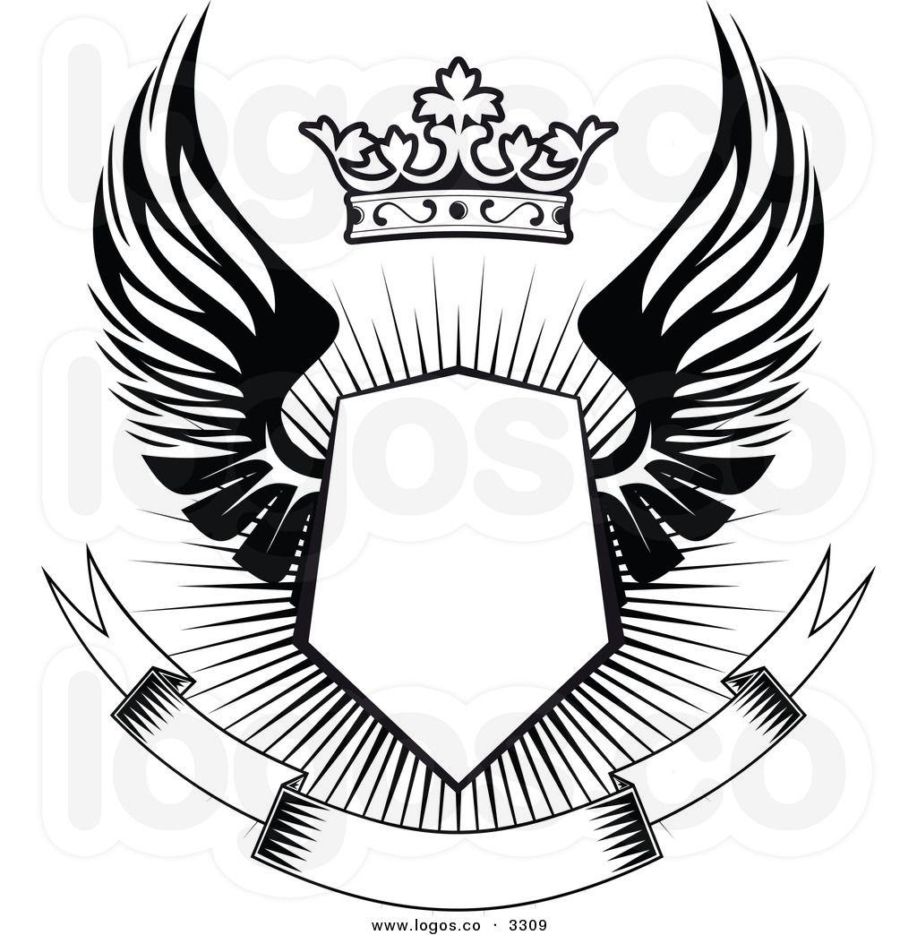 Sheiks With Banner Desain Logo Gambar Serigala Desain Banner