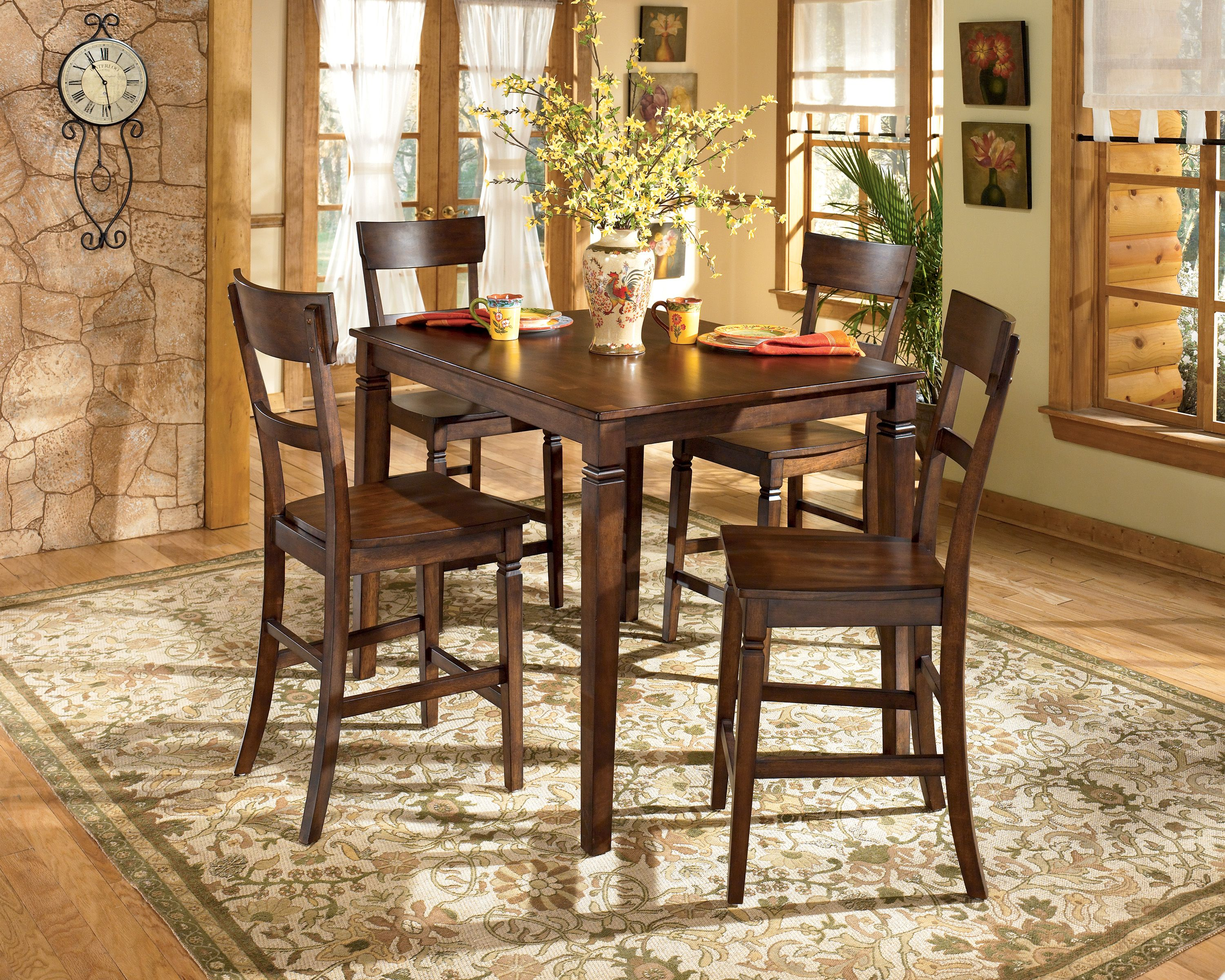 Ashley Furniture Table and Chairs. :) | For the Home | Pinterest