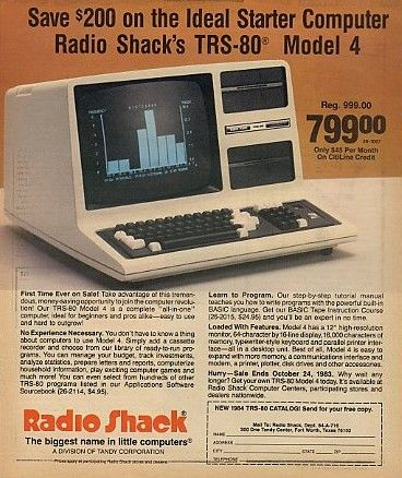 Weekend Theme: Vintage Computers Tandy Radio Shack (TRS-80)
