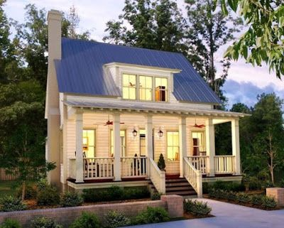 Sweet Farmhouse Cottage Content In A Cottage Country Cottage House Plans Small Cottage House Plans Cottage House Exterior