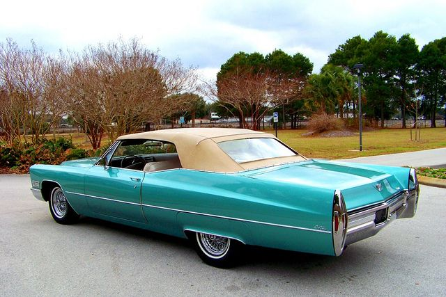 Cd D D Af D Ae A F B on 1966 Cadi Deville Convertible