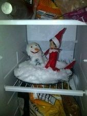 #building #tonight #freezer #shelf #crazy #snow #the #man #elf #our #is #in #on #a #iOur crazy Elf on the Shelf is in the freezer tonight.. building a snow man.  I g... Our crazy Elf on the Shelf is in the freezer tonight.. building a snow man.  I g... , Our crazy Elf on the Shelf is in the freezer tonight.. building a snow man.  I g... ,   22 The Elf on the Shelf Ideas That Will Keep Your Kids on the Nice List - First for Women  Awesome Elf on the Shelf Ideas for Kids - DIY Sweetheart  C... #el #elfontheshelfideasforkids