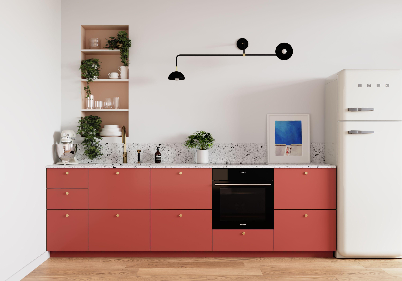 Cuisine PLUM KITCHEN - Terra  Meuble de cuisine ikea, Meuble